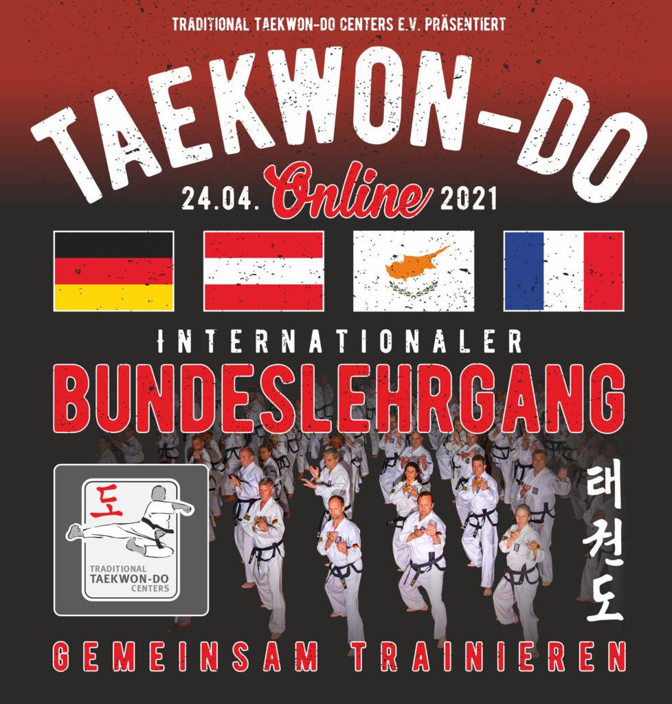Jeder für sich allein und trotzdem gemeinsam. Taekwon-Do SC-Uchte nimmt am internationalen Online Lehrgang teil.